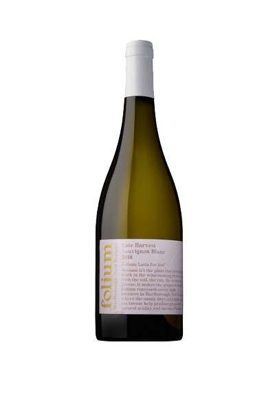 -Limited Release- Folium Late Harvest Sauvignon Blanc 2018